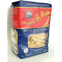 Pastificio G. Di Martino Penne Mezzani Rigate - Product of Napoli Italy 16 oz.
