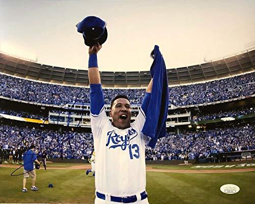 Salvador Perez Autographed Photo - 11x14 Authen - JSA Certified - Autographed MLB Photos