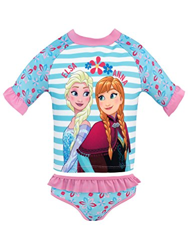 with Girls Frozen Swimwear design