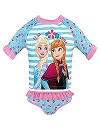 Disney Girls' Frozen Two Piece Swim Set