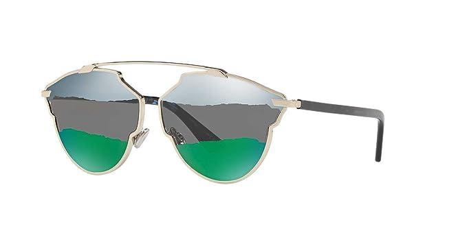 b1ed4c8db5c Dior So Real SoReal A Blue Green Sunglasses 59 mm  Amazon.ca ...