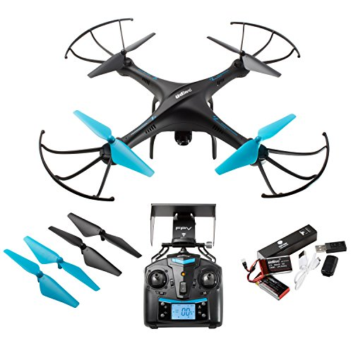 Drone With Camera Live Video   U45w Blue Jay Wifi Fpv Remote Control Hd Camera Drones With 2 Batteries Altitude Hold   1 Key Control Vr Rc Drone Quadcopter