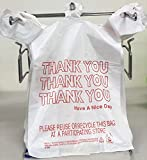 Reli. Thank You T-Shirt Bags (350 Count), Plastic
