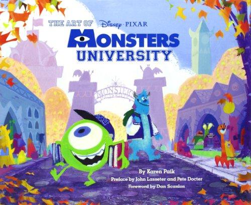 Monsters University Art (The Art of Monsters University)