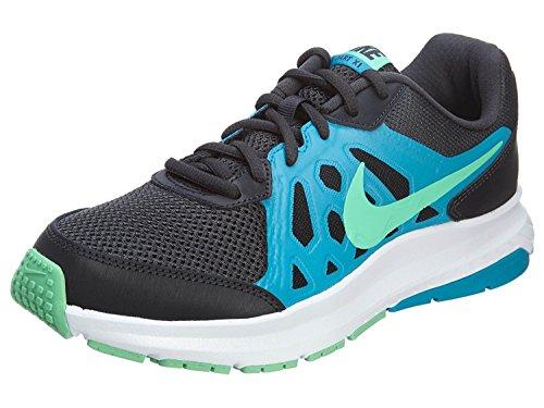 Nike Mens Dart 11 Running Shoes, Anthrct/Grn Glw-Bl Lgn-White, 44 D(M) EU/9 D(M) UK