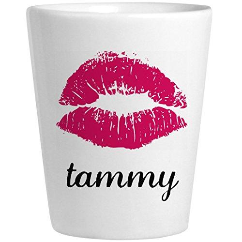 Personalized Shot Glass For Tammy: Ceramic Shot Glass