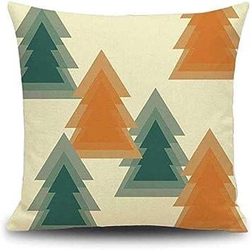 Federe Colorate Per Cuscini.Federa Di Natale Scpink Fodere Per Cuscini Decorativi Geometrici