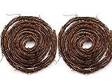 Darice 1/2-Inch Twig Garland, 15-Feet (Two-Pack)