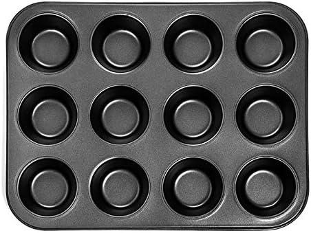 Hochleistungs-cEANake-Backblech aus Kohlenstoffstahl, cEANake-Kuchenform mit 12 Minitassen, cEANake-Backblech mit Antihaftbeschichtung, cEANake