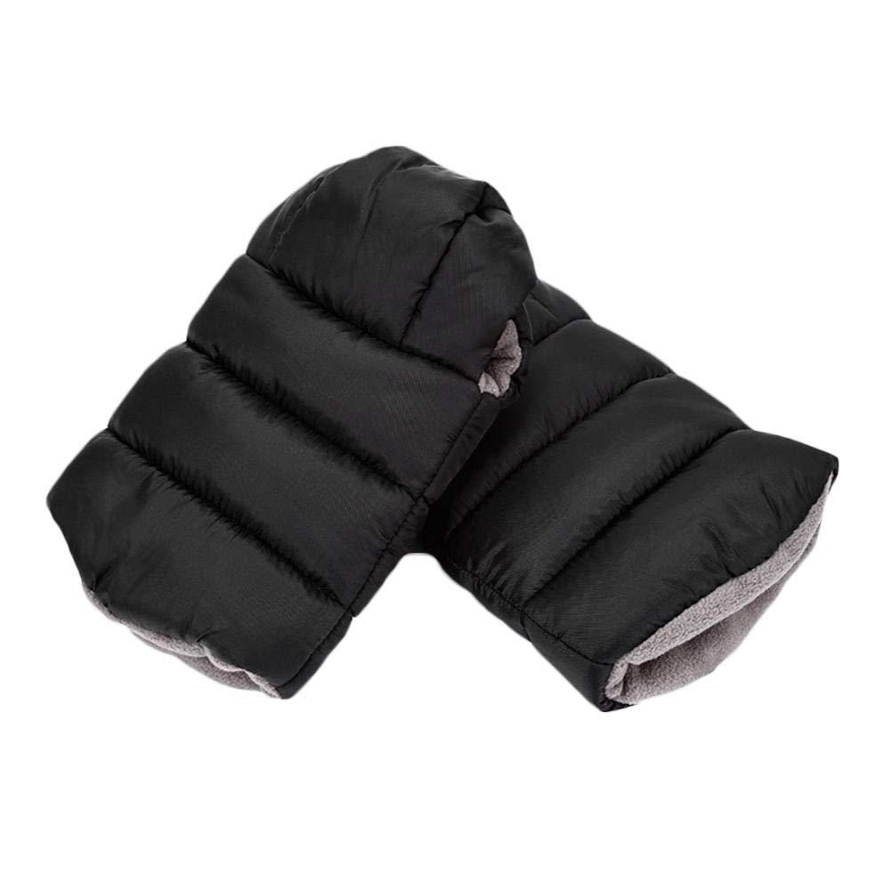 Dream-cool Handmuffs To Fit Pushchair plush Hand Gloves Hand Warmer Winter Baby Stroller Warm Waterproof Gloves Anti-freeze Pushchair Gloves Baby Stroller Hand Muff