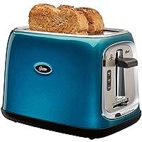 Oster 2 Slice Toaster Metallic Turquoise
