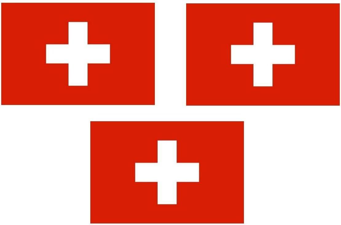 Michael Rene Pflüger Barmstedt 40x25 Mm 3 X Mini Premium Aufkleber Fahne Flagge Der Schweiz Sticker Fahrrad Motorrad Bike Auto Auto