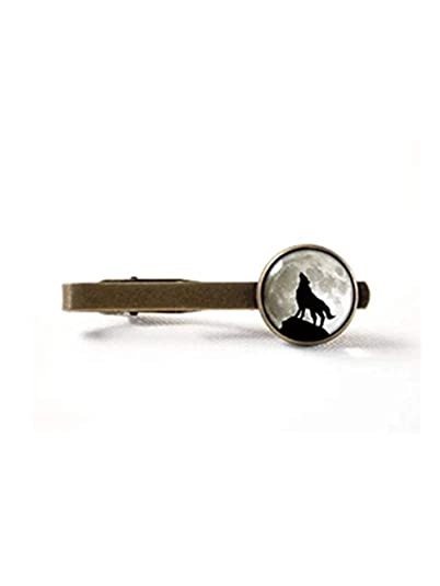JUN - Corbata de Peluche para Hombre, Joyería de Luna, Clip de ...