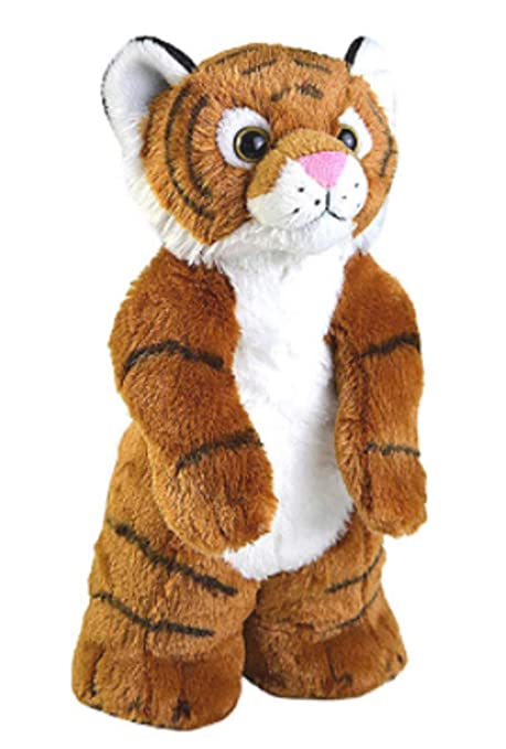 Amazon Com 12 Inch Standing Buddies Tiger Plush Stuffed Animal