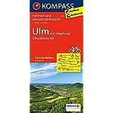Ulm und Umgebung - Schwäbische Alb: Fahrrad- und Mountainbikekarte. GPS-genau. 1:70000 (KOMPASS-Fahrradkarten Deutschland, Band 3115)