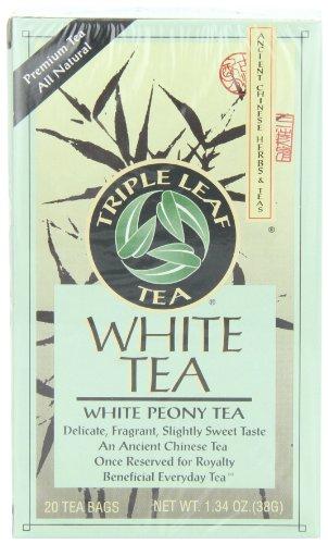 2. Triple Leaf Tea – White Peony Tea
