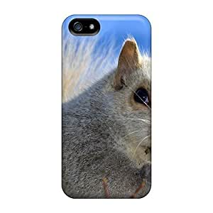 Excellent Design White Squirrel Cases Covers For Iphone 5/5s