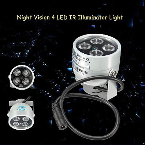 DELAMZ - CCTV LEDS 4 array IR led Light IR Infrared waterproof Night Vision CCTV Fill Light For CCTV Camera ip camera by DELAMZ