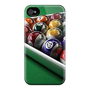 Defender Case For Iphone 4/4s, 3d Pool Pattern