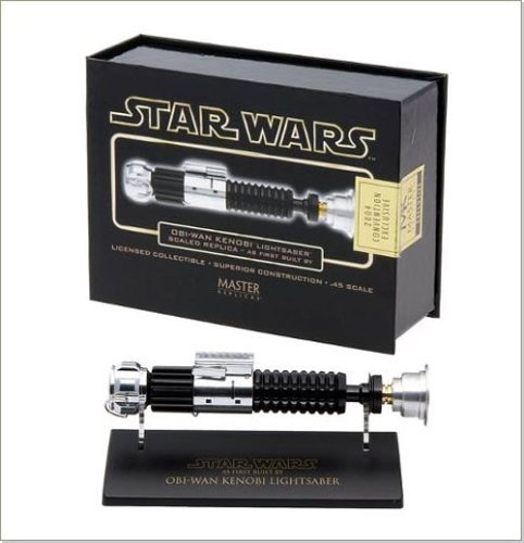 Star Wars Obi-Wan Kanobi Scaled Replica Lightsaber Lightsaber Replica