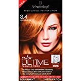 Schwarzkopf Color Ultime Flaming Reds Hair Coloring Kit, 8.4 Light Copper Red by Schwarzkopf