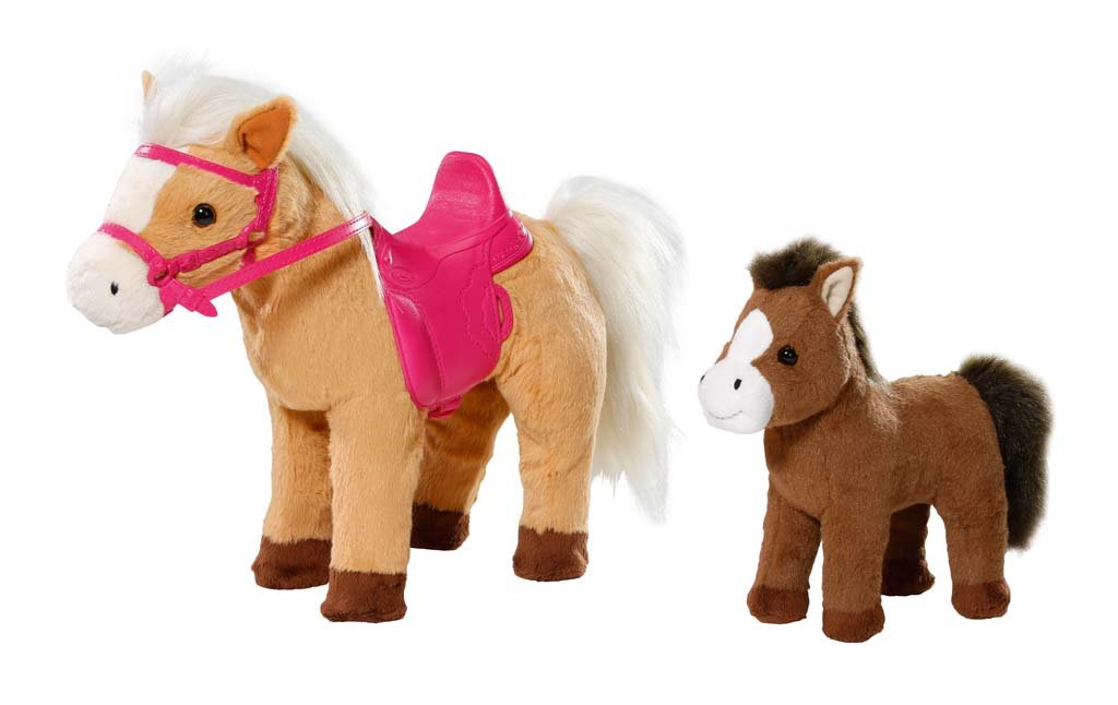 Baby Born - Sunny et son Poulain - Poney Interactif pour Poupon 43 cm Zapf Creation 822371