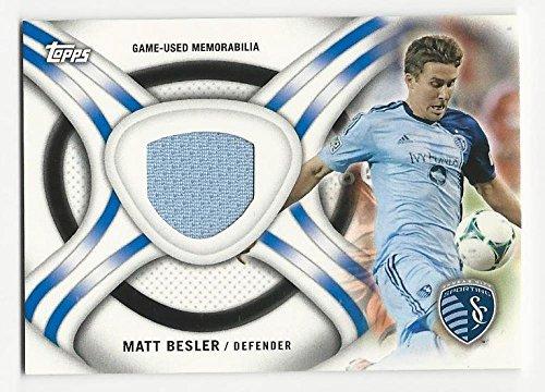 2013 Topps MLS Relics Matt Besler #MB NM Near Mint MEM from Relics