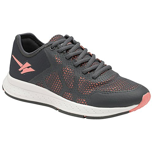 Gola Womens/Ladies Triton 2 Trainers Charcoal/Pink xem0rk