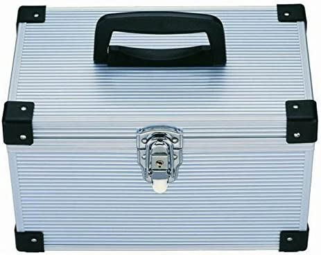 Estuche de Transporte genérico de Aluminio DJ; Caja de Almacenamiento para CD y DVD DJ; Caja de Transporte de Aluminio: Amazon.es: Electrónica