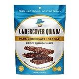 UNDERCOVER CHOCOLATE CO Dark Chocolate Sea Salt Quinoa Snack, 2 OZ