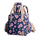 Diaper Tote Bags Nappy Diaper Changing Backpack Organizer with Diaper Changing Pad for Dad & Mom