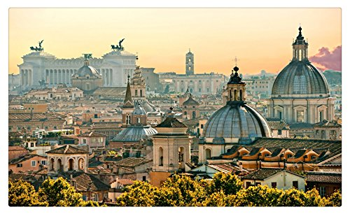 Italy Houses Rome Cities travel sites Postcard Post card