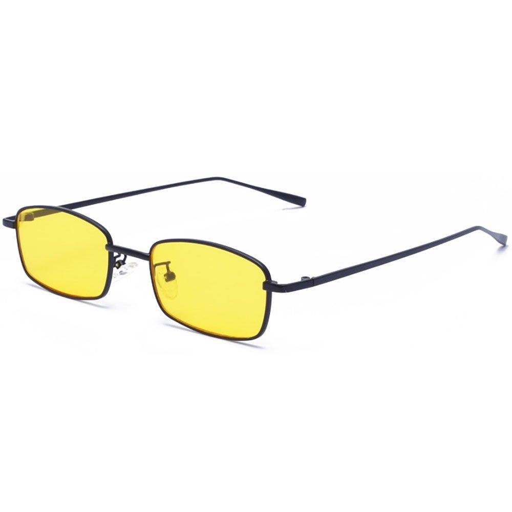 Vintage Klein Platz Sonnenbrille Herren Brillen bunte klare Linse ...