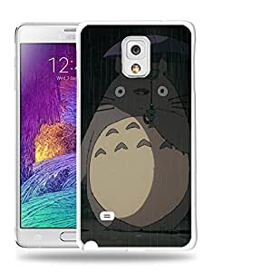Case88 Designs My Neighbor Totoro 0670 Protective Snap-on Hard Back Case Cover for Samsung Galaxy Note 4