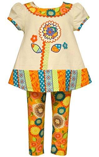 Bonnie Jean Little Girls' Textured Knit Legging Set (3T, -