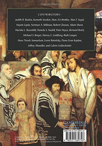 The Cambridge Guide To Jewish History Religion And Culture Comprehensive Surveys Of Judith R Baskin Kenneth Seeskin 9780521689748