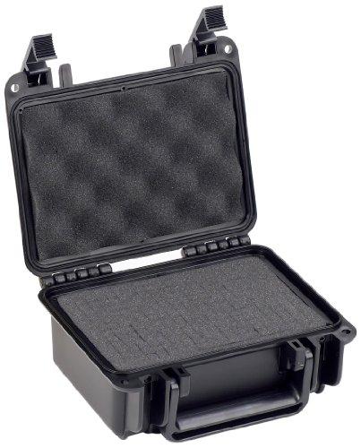 Seahorse SE120 Estuche protectora de plástico, Negro (Black), Pequeño