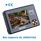 3.5inch 4K CCTV IP Camera Tester Monitor Analog CVBS Test Wifi Touch Screen Audio