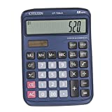 Electronic Desktop Calculator with 12 Digit Large Display, Solar LCD Display Office Calculator (blue)