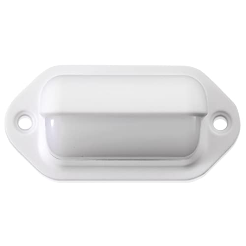 Dream Lighting LED Oblong Step Light For Interior And Exterior of 12V DC Caravan/Camper Trailer/Van/Yacht/Marine/Boat, Cool White