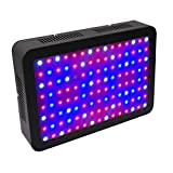 WOLTU 1200W LED Grow Light,120 LED Plant Lights with UV&IR for Indoor Plant Veg and Flower