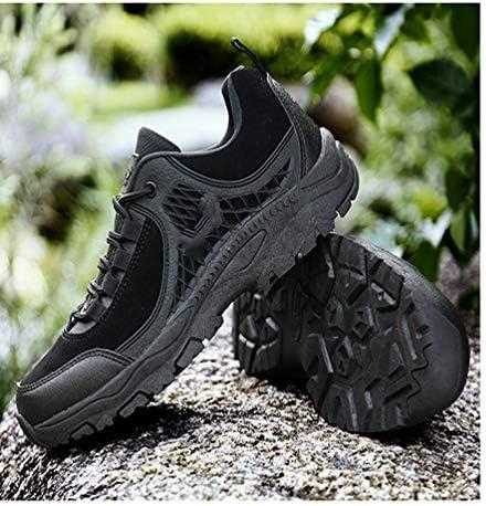 ハイキングシューズ トレッキングブーツ 軍靴 ローカット つま先保護 メンズ 登山靴 アウトドアシューズ 防滑 耐摩耗 レースアップ 通気性 防水 幅広 スニーカー ウォーキングシューズ トレーニングシューズ