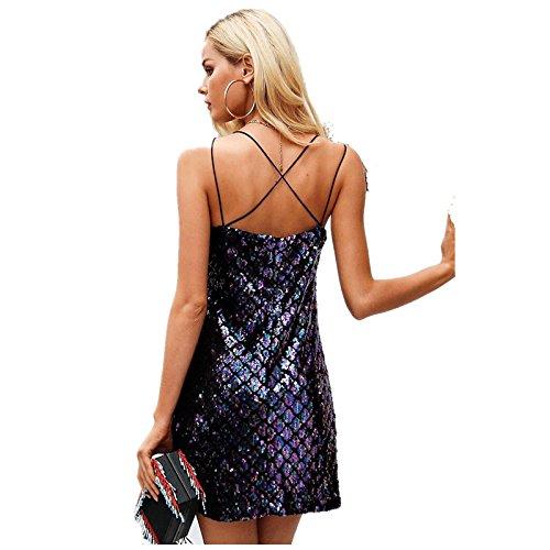 Prismáticos Mujer JIALELE Mujer Cadera Color De Fiesta Lentejuelas Para Vestido De Vestido Paquete Vestido Vestidos Fiesta 0xqR4q8Twa