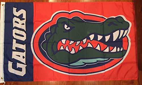 Univeristy of Florida Gators Football Flag Banner 3 x 5 feet NEW