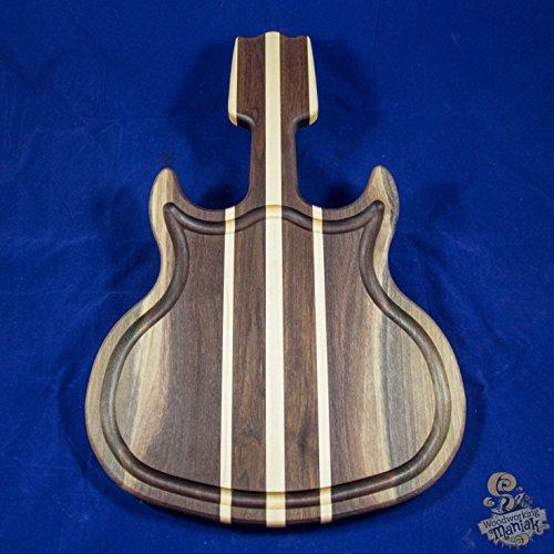Walnut & Maple Guitar Cutting Board