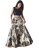 Ratan Creation Red Banglory satin lehenga choli party wear latest design with Blouse piece | Premium Quality Superb Gown unstriched | Floral pattern designer wear gown for girls | Colour guarantee up-to 100% | low prices offer lehenga choli for women party wear offer designer gowns | Occasion: Casual Traditional | Office Party wear | Christmas | New year