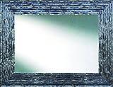 Canvases Levante da2002–7Mirror Decorative Bath/Receiver, 116x 76cm, Colour Silver and Black