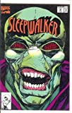 MARVEL SLEEPWALKER #19 1992 PUNCH OUT MOUTH MASK COVER