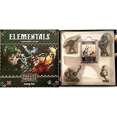 Massive Darkness: Enemy Box - Elementals: Toys & Games