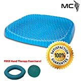 Best Gel Cushions - Egg Sitter Seat Cushion with Non-Slip Cover Breathable Review